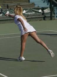 Aysun Kayacı Tenis Maçı
