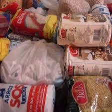 Alimentos para famílias necesitadas