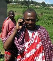 Maasai on Phone