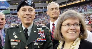 David and Holly Petraeus stand on the field before the NFL Super Bowl XLIII ... - 110104_david_holly_petraeus_ap_605