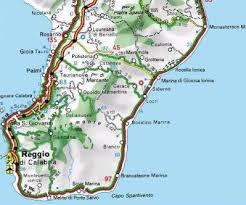 cartina locride Solidarietà verso la Locride, folta delegazione di Fiemme
