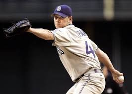 Against Jake Peavy, of