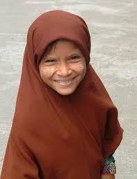 Burmese Muslim girl - 109261-Burmese-Muslim-girl-0
