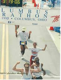 of the Columbus Marathon.