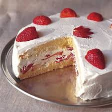Génoise Strawberry-Genoise-Whipped-Cream