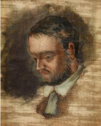 Paul Cézanne\x26#39;s portrait of his friend, the novelist Emile Zola - CezanneEmileZola