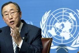 Ban Ki Mun, Secretario General de la ONU