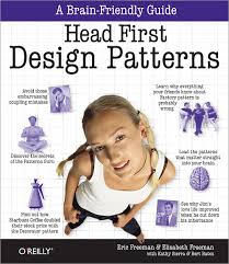 Cover of Head First Design Patterns book