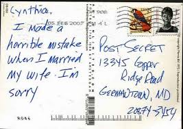 Check out the Post Secret site