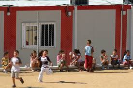 Barracones escolares en Cataluña