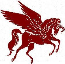 Greek Painting of Pegasus
