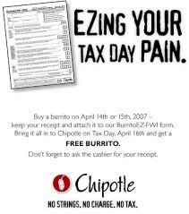 Free Chipotle Burrito