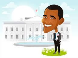 Cartoon: Barack Obama (medium) by Nicoleta Ionescu tagged barack,obama - barack_obama_834825