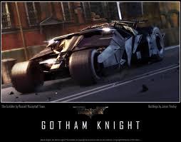 Batman Begins - Tumbler