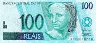 100 reais bill