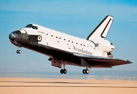the space shuttle landing
