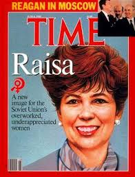 Time - Raisa Gorbachev - June - 3410-1