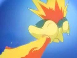 Tu primer pokemon ;D y tus viajes Cyndaquil