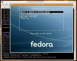 Fedoara boot loader