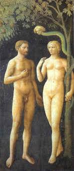 Temptation of Adam and Eve by Masolino