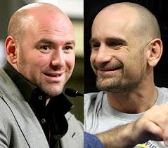 "Dana White and Greg Jackson. ""I mean, Nate Marquardt sat here tonight and ... - Dana-White-Greg-Jackson-UFC"