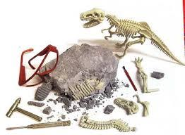 Dinosaur on stone