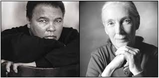 In 2003, Muhammad Ali and Jane Goodall sat side by side to answer questions ... - muhammad-ali-jane-goodall