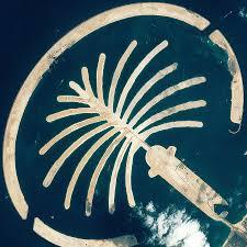 insolites(5) dans et si le monde... Dubai_Palm_Island