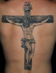 jesus and the cross tattoo