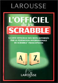 Dictionnaire de Scrabble (France)