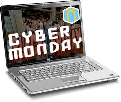 second, it's Cyber Monday!