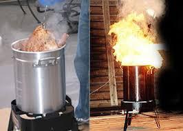Beware of flaming turkeys