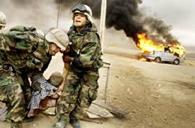 Bataille de chiffres autour du nombre de morts côté irakien thumbnail