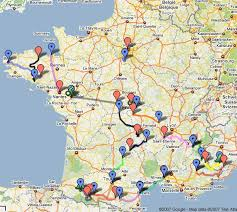 La carte des salons du livre en France