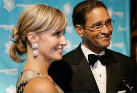 Hillary and Bryant Gumbel.