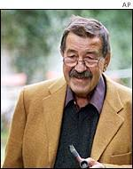 Günter Grass in 1999 - _38338499_grass150_ap