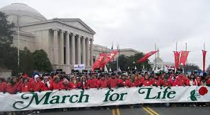 The annual March for Life drew