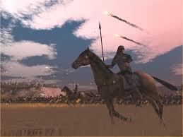 Старовремски коњаник во степата од играта Рим: тотална војна