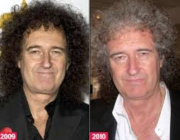 From Brian May to Brian Grey: Rocker\x26#39;s trademark black locks drained of ... - article-0-0A5BBD58000005DC-130_468x366