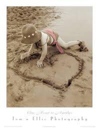 """TNE018X~Un cuore Posters """"ACCENDI IL TUO CUORE PER LA RICERCA"""""""