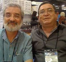 Ron Fernandez and Juan Hernandez at the NAMM Convention - JuanandRon