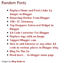 Cara Membuat Random Post