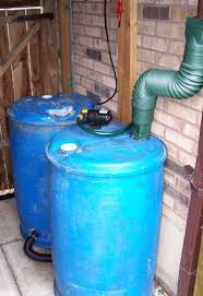 rain barrel with spigot