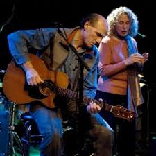 Carole King and James Taylor