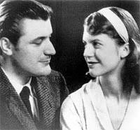 Sylvia and Ted Hughes (Plath)