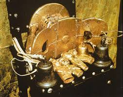 The Golden Stool, where Asante Samuel is believed to have sat out much of camp