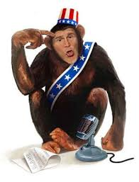 The Evil Obama Monkey Raised