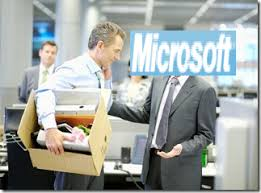 the Microsoft layoff are