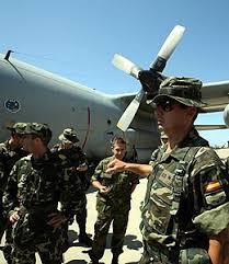 inmigrantes en el ejército español