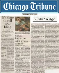 Click here to begin reading the Chicago Tribune newspaper